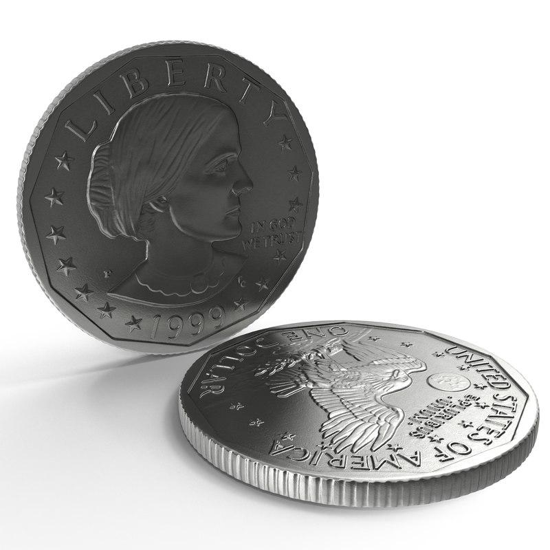 3d max silver dollar