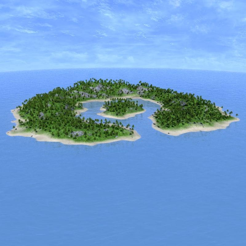 max island tree palm