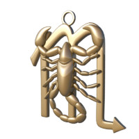 3d horoscope sign scorpio