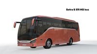 bus setra 3d max