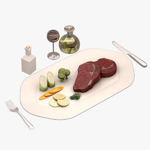 3d model beef
