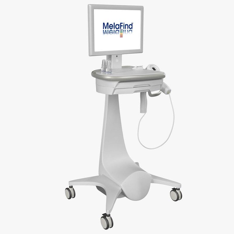 3ds max melafind melanoma scanner
