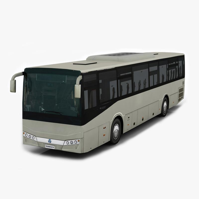 temsa tourmalin bus 3d 3ds