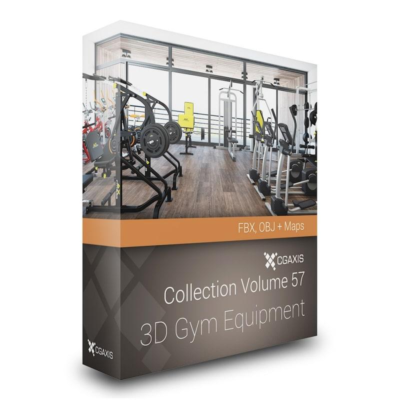 3d gym bike