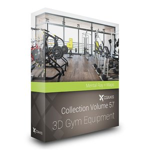 gym bike 3d model