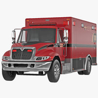 International Durastar Ambulance 2 3D Model
