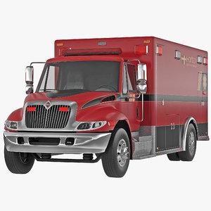 international durastar ambulance 2 3ds