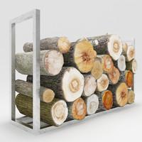 3d model firewood