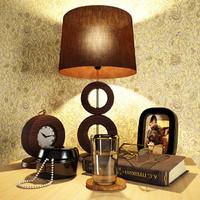 3d model decorative bedside tables