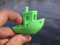 3dbenchy testing printing 3ds free