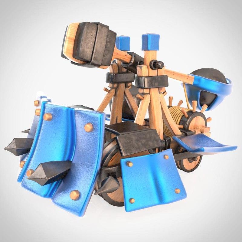 max cartoon catapult