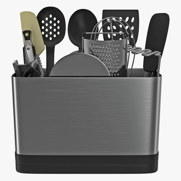 3d model kitchen tool set