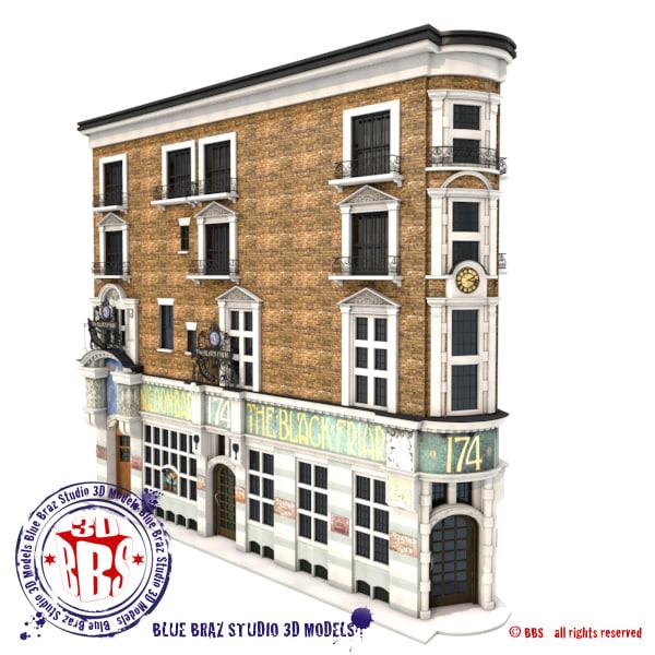 english pub 3d 3ds
