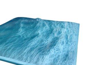 3d pre-storm ocean model