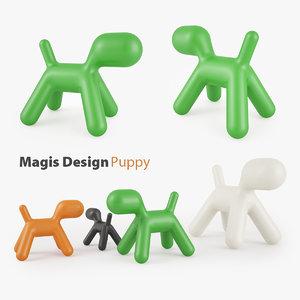 3d magis puppy chair children s