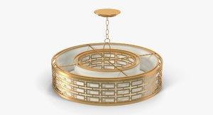 3d model of fine art lamps alegretto