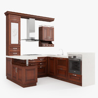 3d kitchen eclecticism