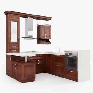 3d kitchen eclecticism