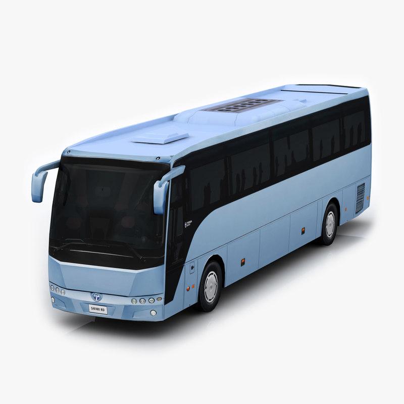 3d temsa safari rd bus model