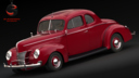 Ford De Luxe 3D models
