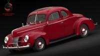 3d model of deluxe 1940