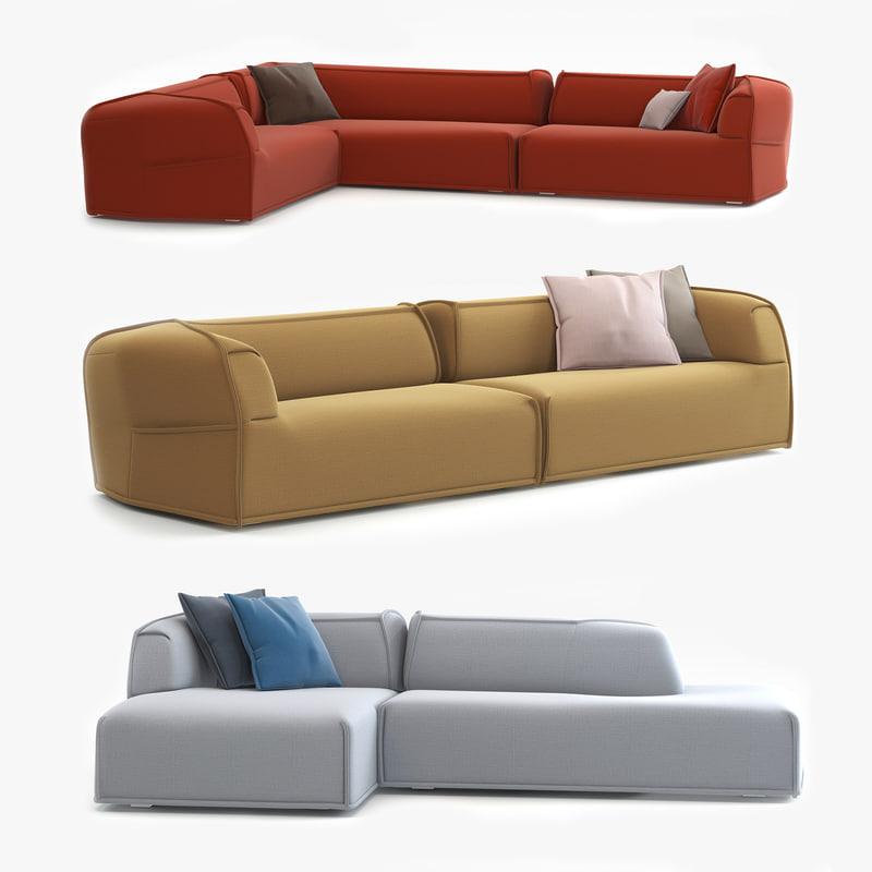 3d modern contemporary moroso m s model