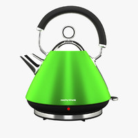 accents traditional kettle 3d model