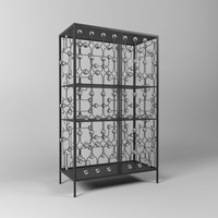 3d model christophe sideboard