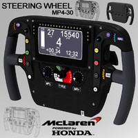 obj steering wheel