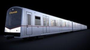 3d vienna subway
