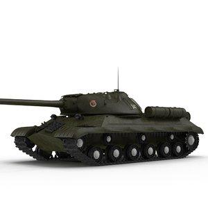 is-3 tank 3d model