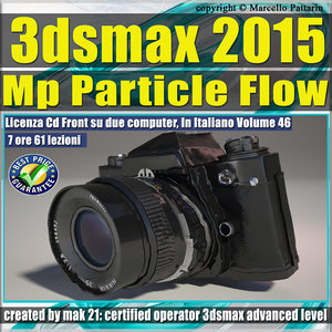 3ds max 2015 MP Particle Flow vol 46 cd front