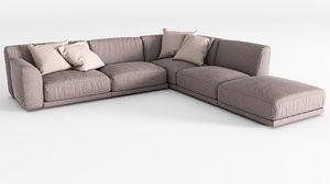 sofa v-ray 3ds