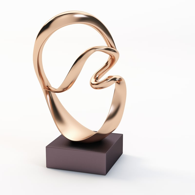 bronze sculpture grediaga 3ds