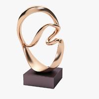 Kieff Grediaga Antonio Bronze Sculpture
