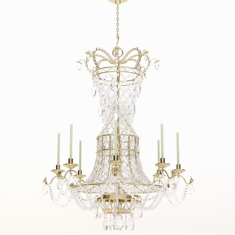 d chandelier classic