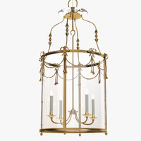 3d model of chandelier classic