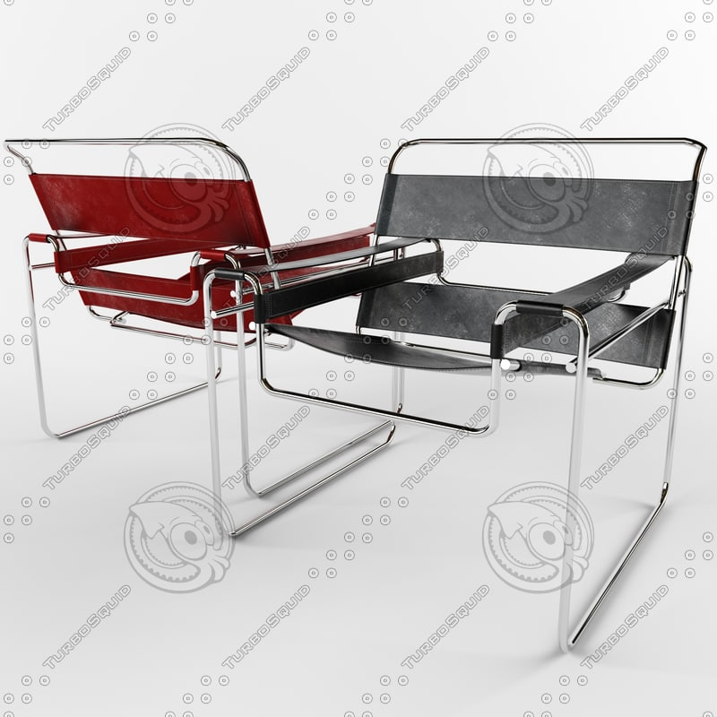 chair wassily 3ds