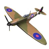 spitfire propeller 3d fbx