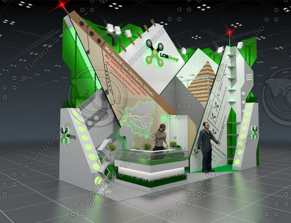 blender exhibition stand companies