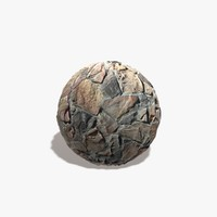 Brown Rock Wall Seamless Texture