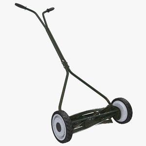 3ds vintage push mower