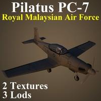 3d model pilatus rmf