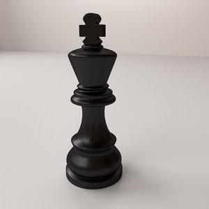 3d king model