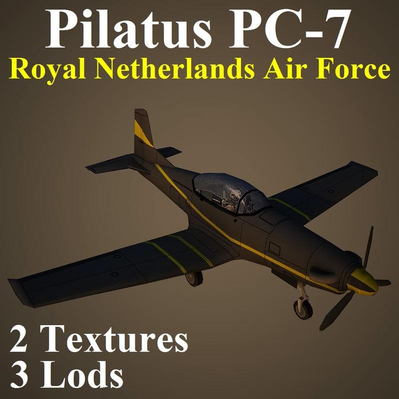 pilatus rnl 3d model