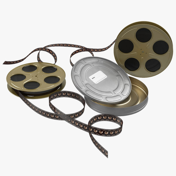 3d video film reel set