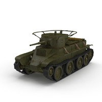 3d tanks fast moving model