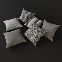 Grey pillows