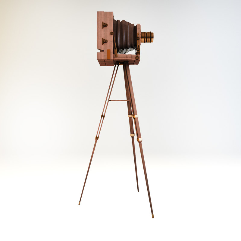 old camera 3d max