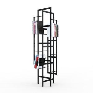 weave bookcase casamania 3d max